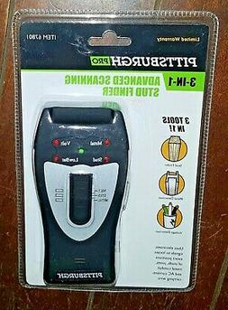 3-In-1 Electronic LED Stud Finder, Voltage Detector and Meta