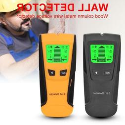 3 In 1 Wall Metal Detector Find Wood Studs AC Voltage Live W