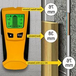 Location LCD Wall Detector Stud Best Center Finder AC Live W