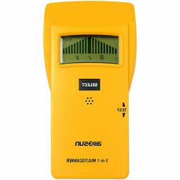all-sun Stud Finder Digital Metal Detector for Studs/Live AC