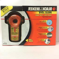 Black & Decker Bulls Eye Laser Level + Stud Finder w/ Case N