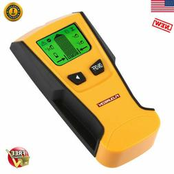 FLOUREON 3in1 LCD Handheld Stud Center Finder Wood Metal AC