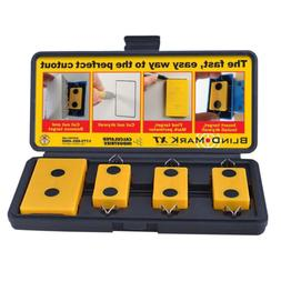 Home Blind Mark Drywall Electrical Box Locating Tool Kit Han