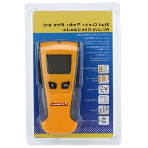New LCD Wall Center Scanner Metal Wire Detector