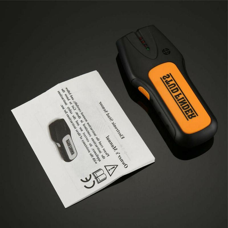 3in1 Digital Stud Wall Center Metal Live Wire Detector C#