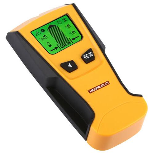 LCD Display Center Finder Metal AC Live Wire Tool