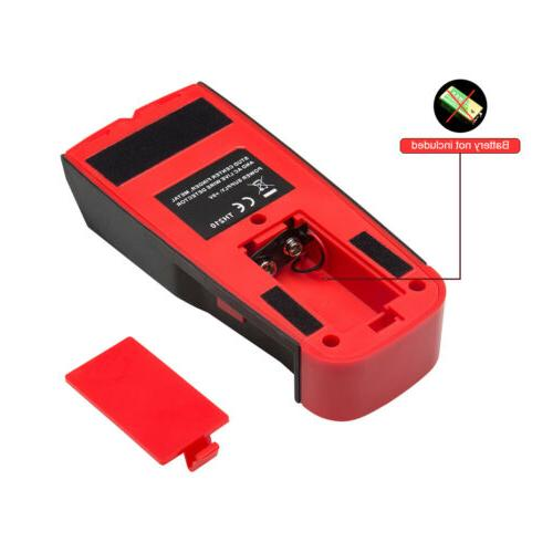 3 in Stud Center Finder, AC Live Wire Detector LCD
