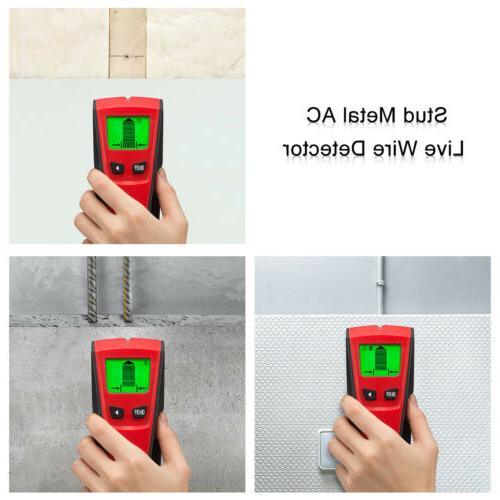 3 in Center Live Wire Detector LCD Display