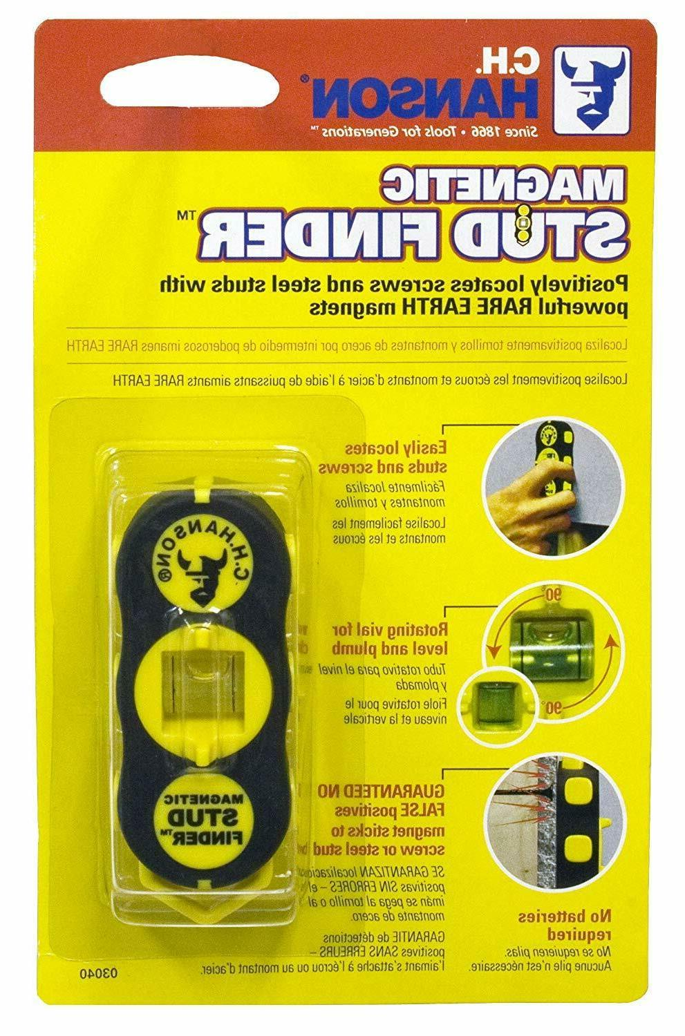CH Hanson 03040 Magnetic Stud Finder Free Shipping