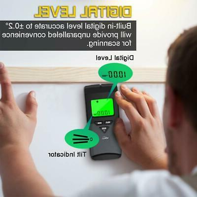 Stud 6 in 1 Wall Scanner with Modes & Digital Leve...