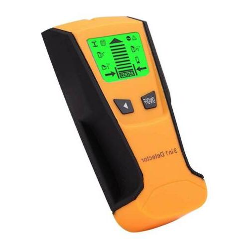 US 3in1 Wood Wall Scanner Live Wire Detector