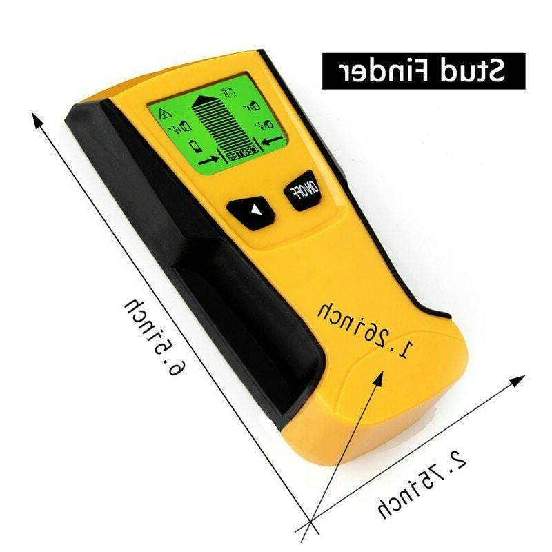 US 3in1 LCD Stud Wood Wall Center Scanner Metal AC Wire Detector New