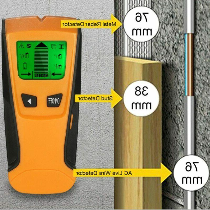 US Wood Wall Center Scanner Metal AC Wire