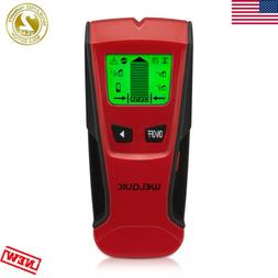 LCD Wall Scanner Stud Finder 3-in-1 Metal AC Wire Detector w