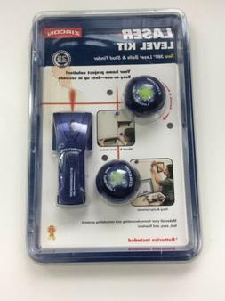 NEW ZIRCON LASER LEVEL KIT LaserBall 360 Degrees & Stud Find