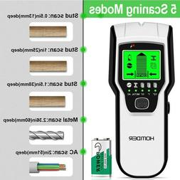 Stud Finder Wall Scanner-5 in 1 Wood Stud/Metal/Live AC Wire